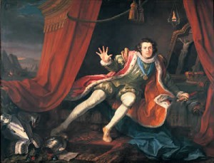 Get the look: David Garrick