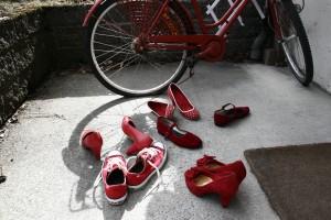Fine sko og solskin