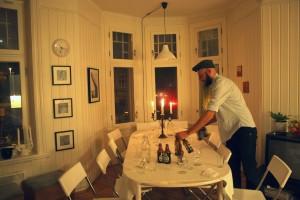 Samtalar ved eit middagsbord